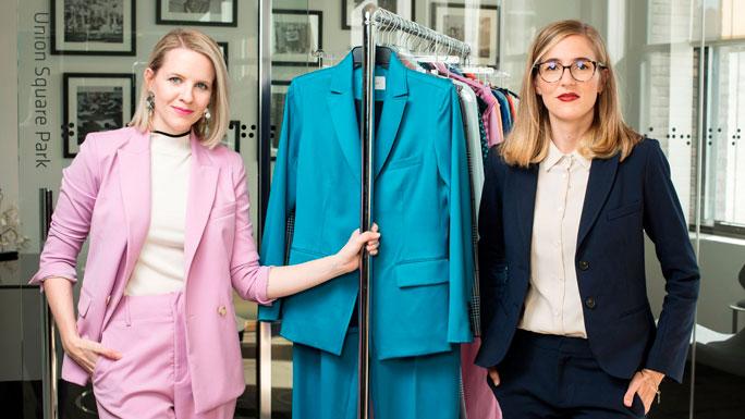 Argent-ropa-Sali-Christeson-vestir-para-la-oficina-trabajo