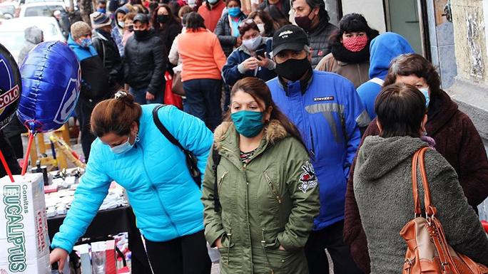Chile-Coronavirus1 gente personas