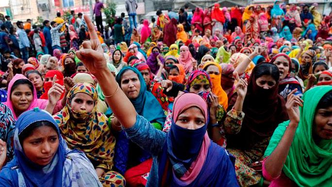 TRABAJADORES-TEXTILES-BANGLADESH-protestas