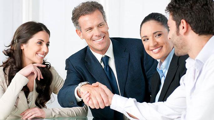 aliado dar mano manos acuerdo reunion
