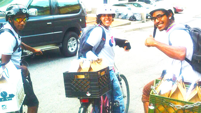 ciclistasentregan