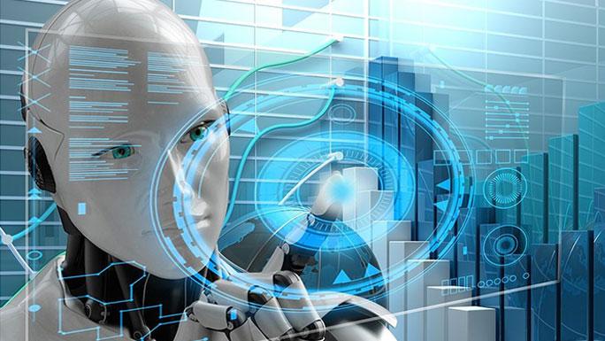 digital inteligencia artificial robot