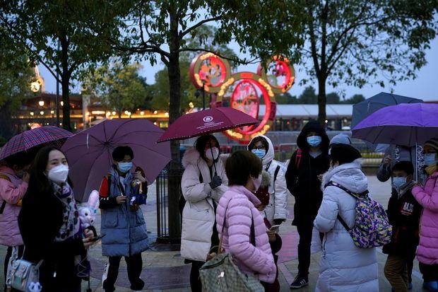 disneyland in shangai china coronavirus