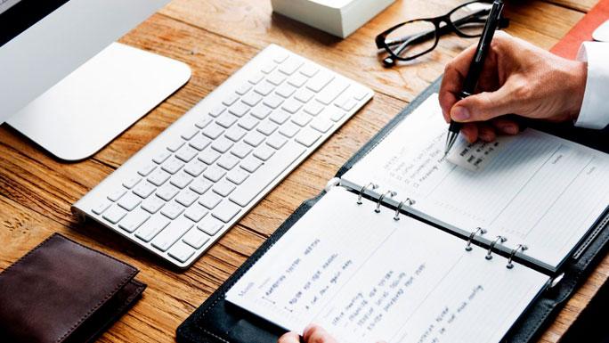 ordenar-agenda-anotar-lista