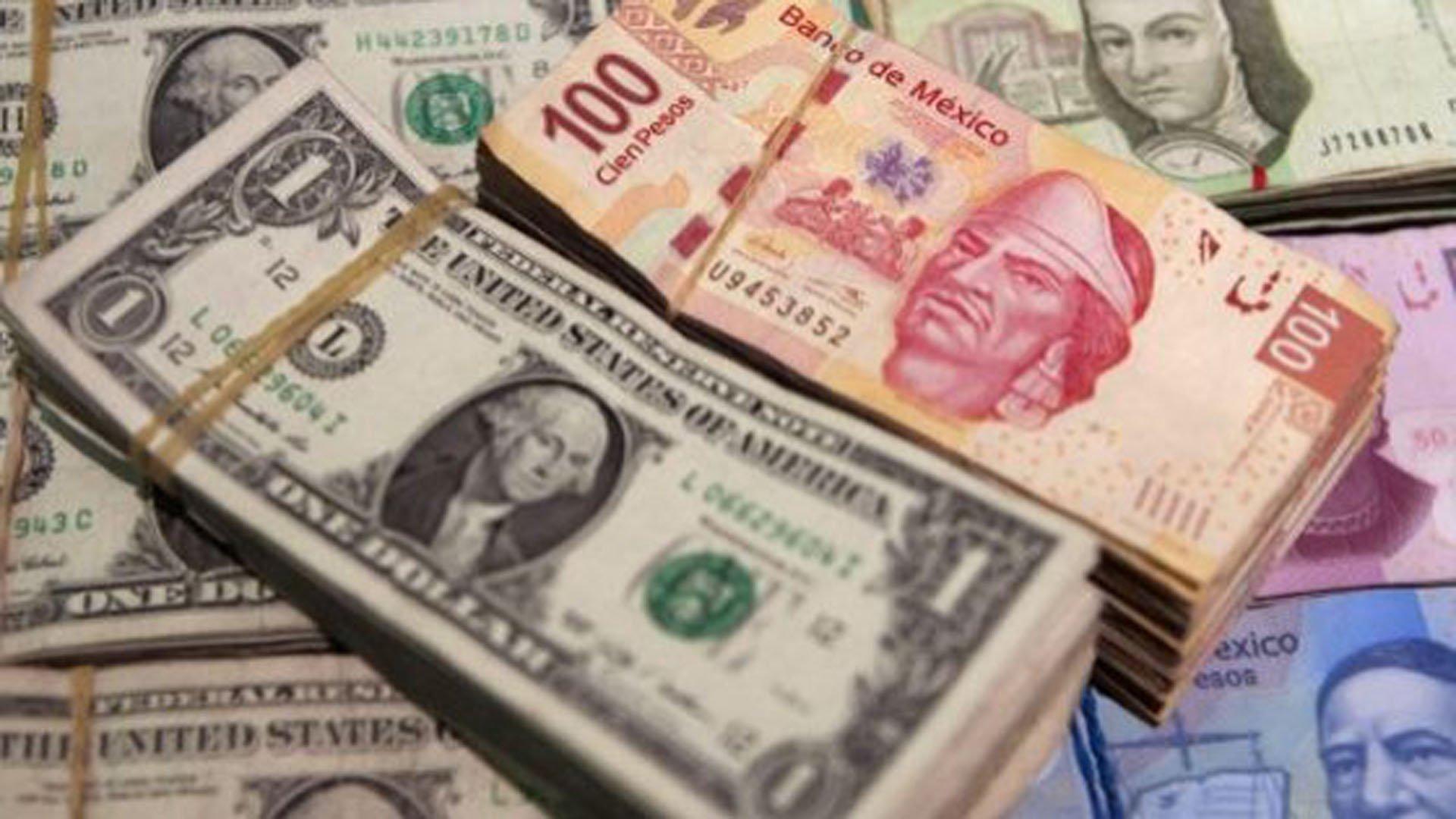 pesos mexicanos y dolares mexico