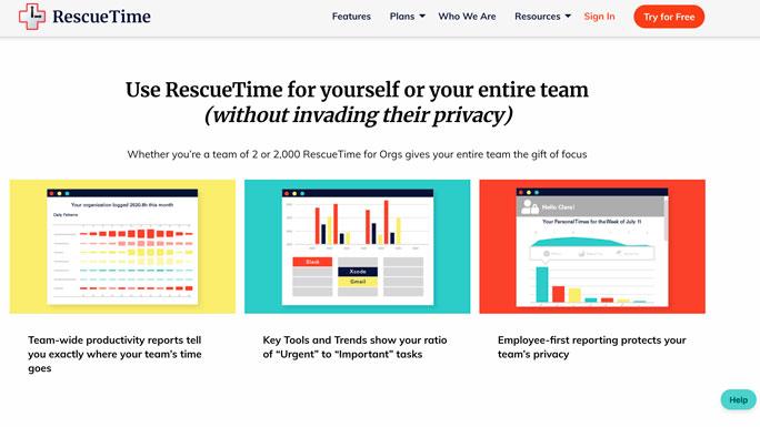 rescuetime-aplicaciones-productividad-ser-productivo