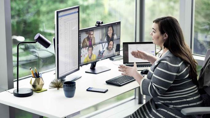 teletrabajo videoconferencia reunion
